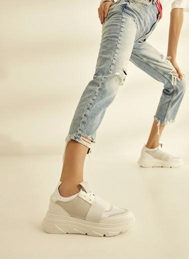 Sole Sisters Spor Ayakkabı Beyaz - Alvena2 Beyaz
